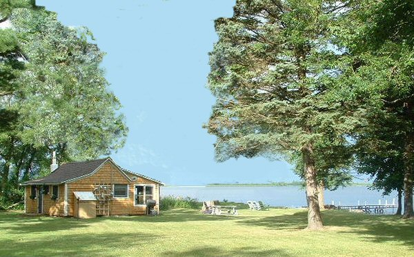 Lake Ontario Waterfront cottage rental - 'Duck Blind'