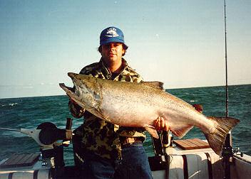 Lake ontario fishing for Lake ontario salmon fishing report